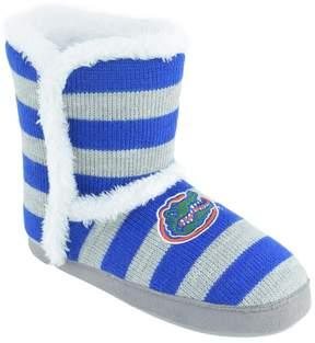 NCAA Women's Florida Gators Striped Boot Slippers