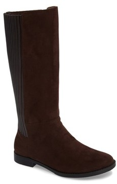 Kenneth Cole New York Girl's Kennedy Pleated Riding Boot