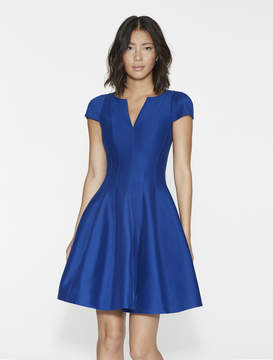 Halston Structured Faille Dress