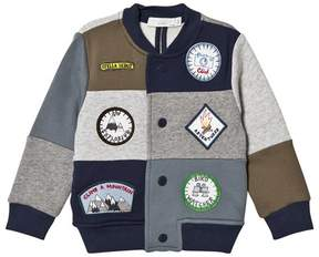 Stella McCartney Patch and Badge Jersey Bomber
