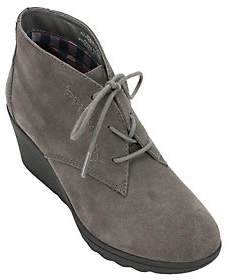 White Mountain Heritage Collection Leather Booties - Kahlua