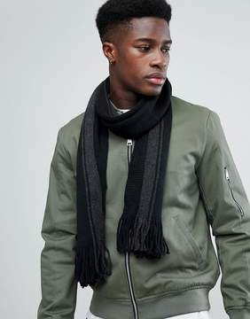 French Connection Black Scarf