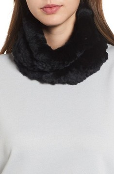 Jocelyn Women's Genuine Rabbit Stretch Cowl