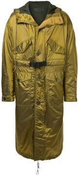 Haider Ackermann oversized long line coat