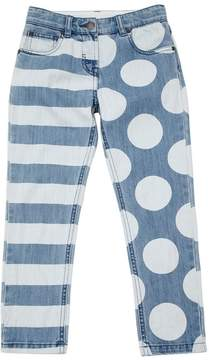 Stella McCartney Strips & Polka Dots Stretch Denim Jeans