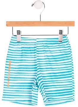 Agatha Ruiz De La Prada Embroidered Striped Shorts