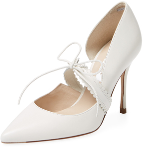 LK Bennett L.K.Bennett Women's January Leather Tie Pump