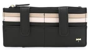Kate Landry Stripe Patchwork Wallet