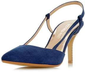 Head Over Heels *Head Over Heels by Dune Navy 'Carris' High Heel Court Shoes