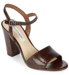 Saks Fifth Avenue Mag Leather Sandals