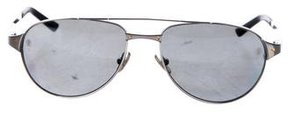 Cartier Santos-Dumont Aviator Sunglasses