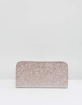 New Look Ombre Glitter Zip Around Purse