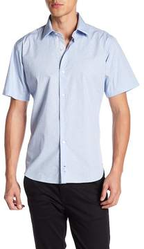 Tailorbyrd Triangle Short Sleeve Woven Shirt