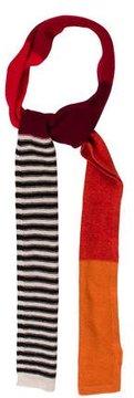 Sonia Rykiel Knit Colorblock Scarf