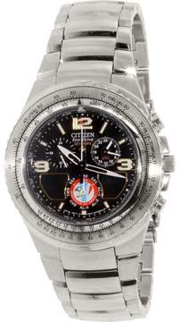 Citizen Eco-Drive JR3160-54E Black Dial Watch