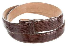Tiffany & Co. Lizard Belt Strap