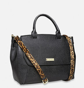 Avenue Animal Instinct Flap Satchel