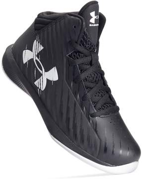 Under Armour Jet Express Mid Preschool Boys' Basketball Shoes