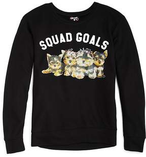 Flowers by Zoe Girls' Puppy Squad Goals Top - Big Kid