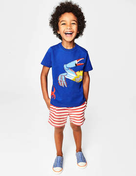 Boden Aquatic Pals Applique T-shirt