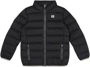 Armani Junior Down Puffer Jacket with Foldaway Hood