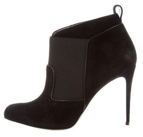 Paul Andrew Suede Pointed-Toe Booties