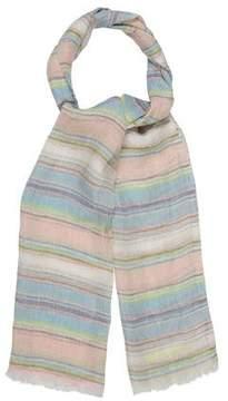 Etro Multicolor Striped Scarf