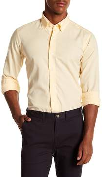 Peter Millar The Perfect Pinpoint Tailored Fit Long Sleeve Shirt