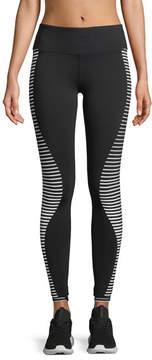 Alo Yoga Airbrush Wave-Stripe Sport Leggings