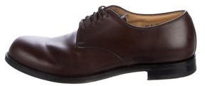 Jil Sander Leather Derby Shoes