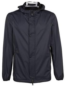 Herno Men's Gc0030u122029201 Blue Polyester Outerwear Jacket.