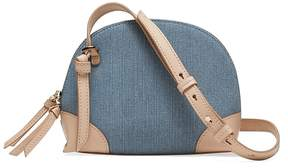 Banana Republic Denim Dome Crossbody