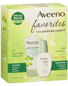 Aveeno Active Naturals Positively Radiant Scrub/Moisturizer