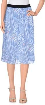 Nioi Knee length skirts