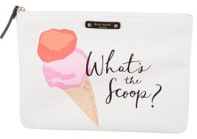 Kate Spade Printed Cosmetic Pouch