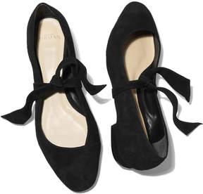 Alexandre Birman Antoinette Flat Shoe in Black, Size IT 36