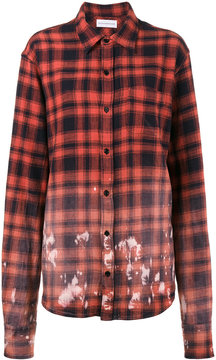 Faith Connexion Faded plaid shirt