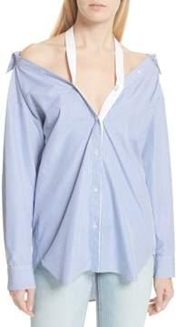Alexander Wang Stripe Poplin Shirt