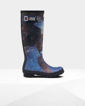 Hunter Women's Original Tall Space Camo Rain Boots