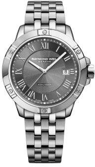 Raymond Weil Tango Gray Dial Stainless Steel Bracelet Watch