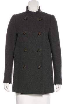 Mantu Double-Breasted Wool Coat