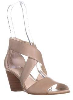 Kenneth Cole New York Drina Wedge Sandals, Light Grey.