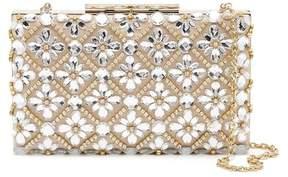 Sondra Roberts Floral Crystal Embellished Clutch
