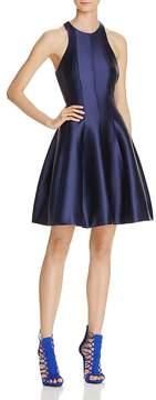 Aqua Cutout Fit-and-Flare Dress - 100% Exclusive