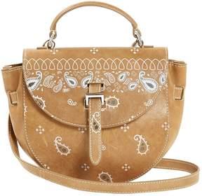 Meli-Melo Camel Leather Handbag