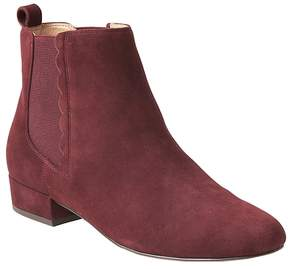 Banana Republic Scallop-Detail Chelsea Boot