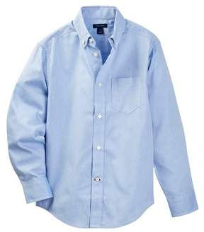 Tommy Hilfiger Pinpoint Oxford Shirt (Big Boys)