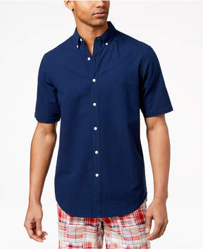Club Room Men's Seersucker Shirt, Created for Macy's
