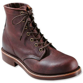 L.L. Bean Katahdin Iron Works Engineer Boots, Plain-Toe