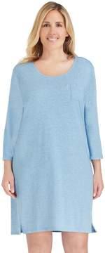 Cuddl Duds Plus Size Pajamas: Essentials Sleep Shirt